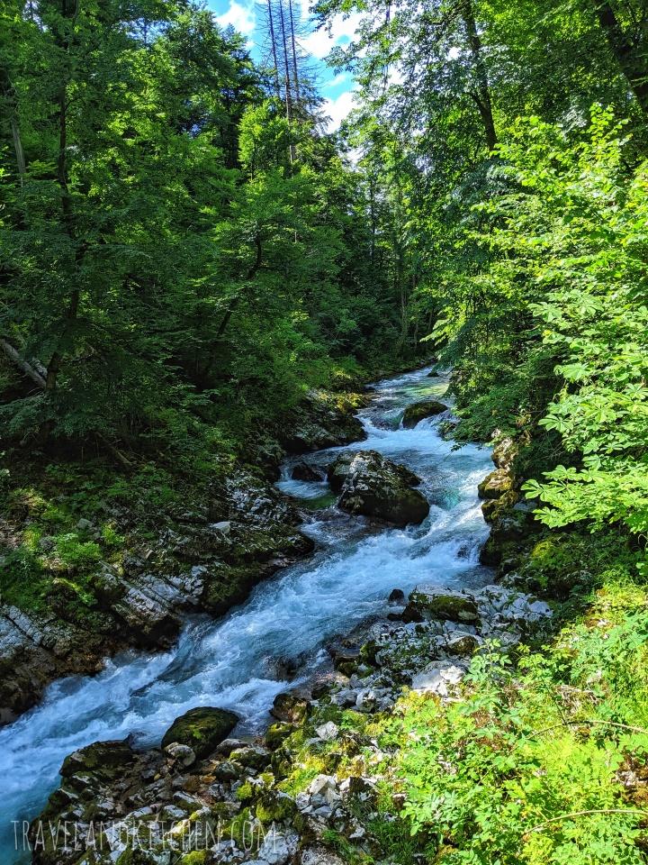 Slovénie : Les Gorges deVintgar