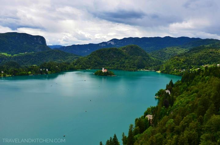 Slovénie : Le lac deBled